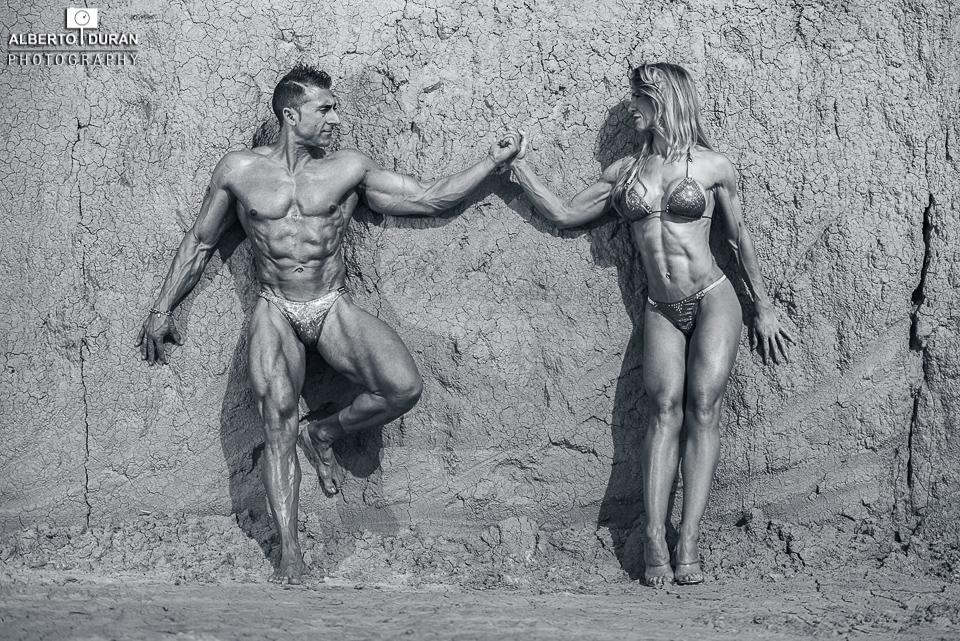 pareja fitness - alberto duran fotografía